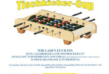 1.Gleiberger-Land Tischkicker-Cup